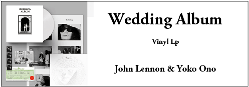 John Lennon & Yoko Ono Wedding Album (LP)