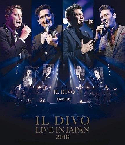 Resultado de imagem para Il Divo, 'Hola' - TIMELESS Live In Japan