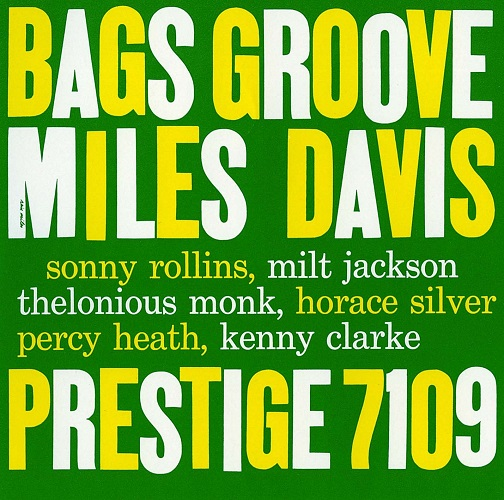 BAGS GROOVE(UHQCD)(reissue)(ltd.) MILES DAVIS CD