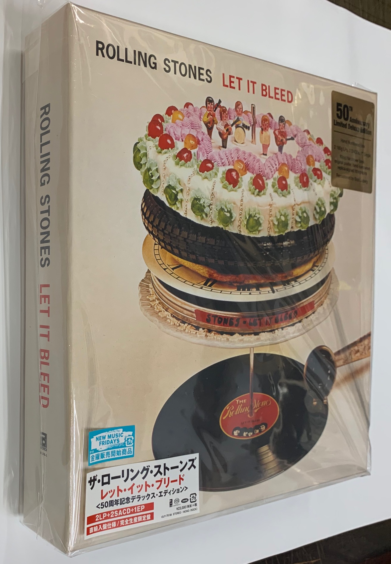 Rolling Stones The Let It Bleed 50th Anniversary