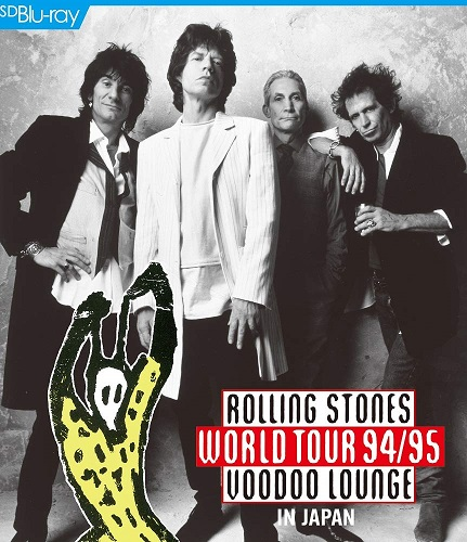 Rolling Stones World Tour 94/95 Voodoo Lounge In Japan (Blu-Ray+Photobook) (Reissue) (Region-A) Rolling Stones, The Blu-ray