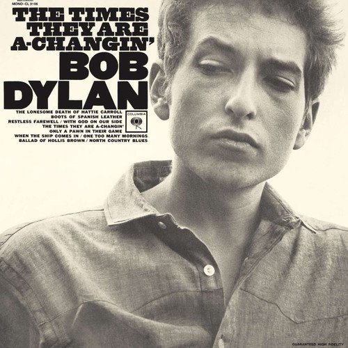 Times They Are A-Changin' (180Gram) Bob Dylan Vinyl LP