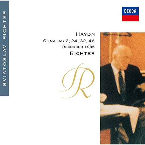 HAYDN: PIANO SONATAS NOS.32, 24, 46 & 2(reissue)(ltd.) SVIATOSLAV RICHTER CD