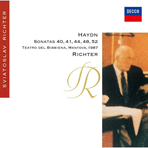 HAYDN: PIANO SONATAS NOS.44, 40, 41, 48 & 52(reissue)(ltd.) SVIATOSLAV RICHTER CD