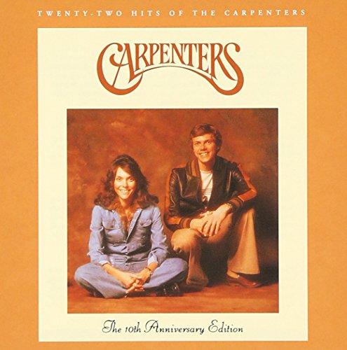 TWENTY-TWO HITS OF THE CARPENTERS: 10TH ANNIV. ED. CARPENTERS, THE CD